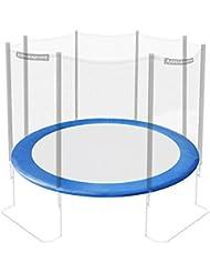 Ultrasport Randabdeckung für Gartentrampolin Jumper (Modelle ab Mai 2014), Federabdeckung in der Farbe Blau, Trampolin Randschutz für Durchmesser 180 bis 430 cm, Trampolinzubehör für mehr Sicherheit