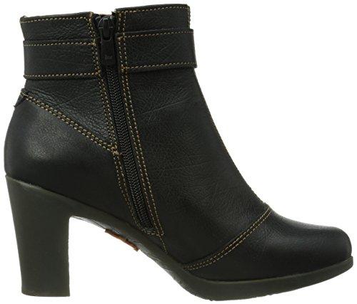 Art Rio 296, Boots femme Noir (Black)