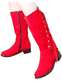 Suchergebnis auf für: Rote Lack Stiefeletten
