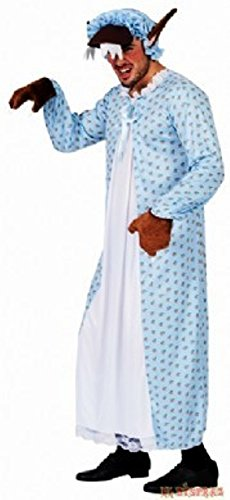 Disfraz Abuela-lobo de caperucita Talla L