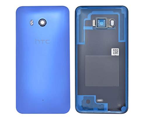 Original Akkufachdeckel für HTC U11 Back Cover Gehäuse Akku Deckel Schale Glas Blau Kamera Linse/Werkzeug Back Cover Gehäuse