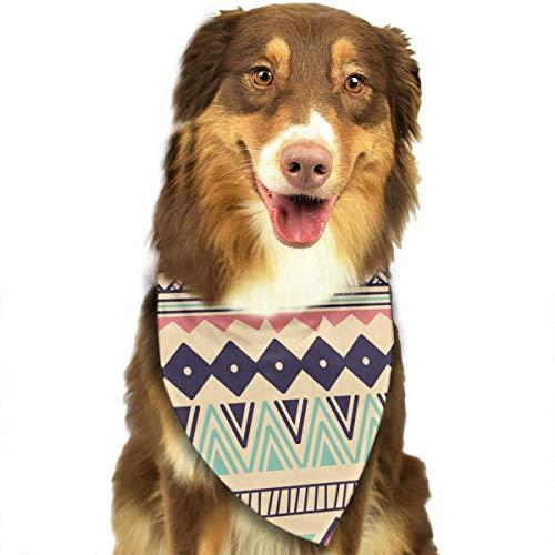 Wfispiy Merry Christmas Fashion Pet Bandanas Dog Car Neck Scarf for Unisex Pet Boy ()
