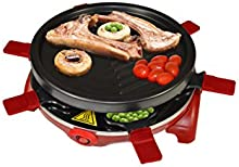 Comprar Jocca 5524 - Raclette Grill, redonda, color negro