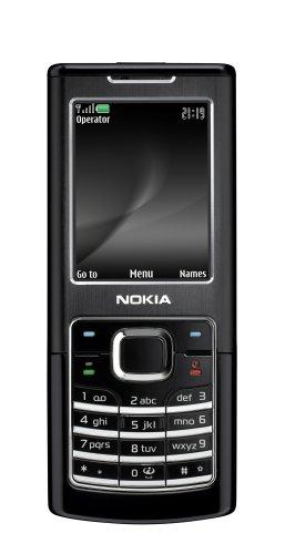 Nokia 6500 Classic - M  vil libre  pantalla de 2  320 x 240  1 GB de capacidad  color negro