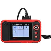 Launch CRP129 X431 Herramienta de diagnóstico OBDII/EOBD lectura/borrado de códigos de error, Motor, Transmisión, ABS, Airbag, Aceite, SAS, Batería en pantalla TFT 3,5 pulgadas 320x480 tarjeta 1GB