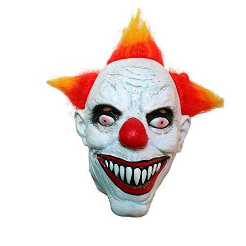 Fanfan Clown-Maske Männliche Halloween-Erwachsene Latex-Kopf Decken Lustige Großhandel Custom Horror-Clown Haunted Haus Performance-Requisiten