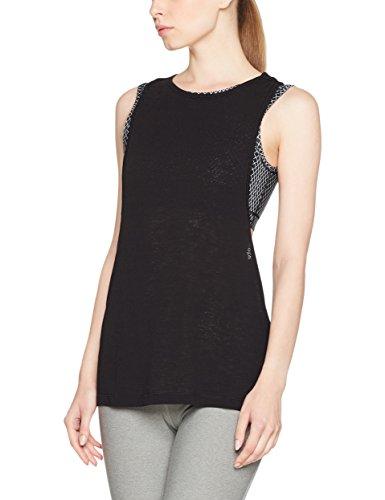 Camiseta de tirantes Puma para mujer, Otoño-invierno, mujer, color negro, tamaño medium