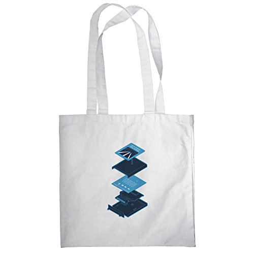 Texlab–Game Program Cartridge–sacchetto di stoffa Bianco
