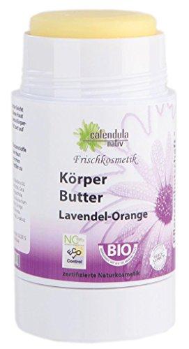 Körperbutter Lavendel Orange 65g
