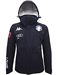 Kappa - Chaquetas - 6cento 650a Fisi - Blue Night-Silver - x-small