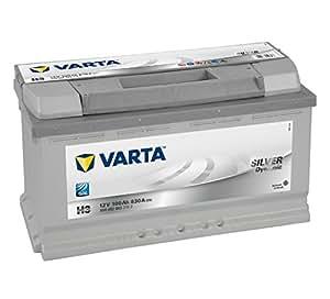 Varta Silver Dynamic H3 Batterie Voitures, 12 V 100Ah 830 Amps (En)