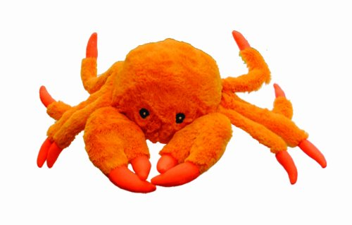 Jolly Pets Jolly tug-a-mal Crab Tug/Quietschen Spielzeug, extra Large -