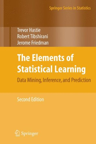 The Elements of Statistical Learning: Data Mining, Inference, and Prediction, Second Edition (Springer Series in Statistics) por Trevor Hastie