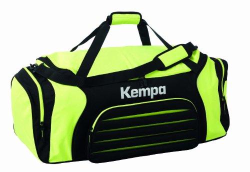 Kempa Borsa sportiva Sportline Sportbag 35L, Giallo (Fluo Gelb/Schwarz), S