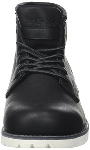 Levi's Herren Jax Clean High Kurzschaft Stiefel Schwarz (Regular Black)