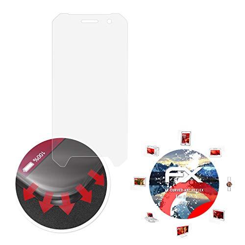 atFolix Schutzfolie passend für Cyrus CS 27 Folie, entspiegelnde & Flexible FX Bildschirmschutzfolie (3X)