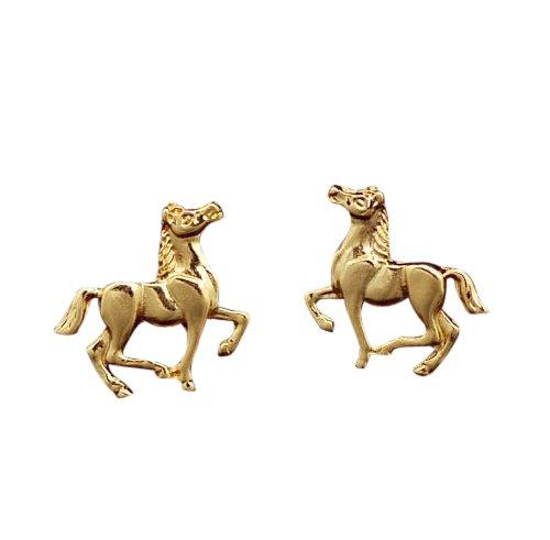 veuer-1-paar-susse-pferde-ohrringe-vergoldet-madchen-schmuck-fur-damen-horse-ear-ohr-ring