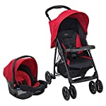 Graco Mirage Travel System including Apron & Raincover, Chili Spice