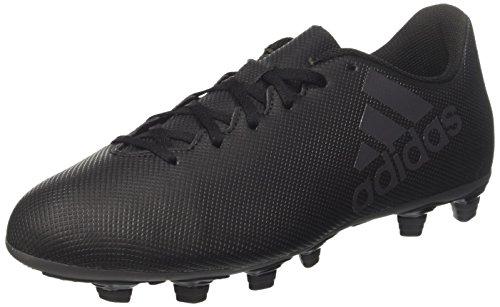 adidas Herren X 17.4 Fxg Fußballschuhe, Schwarz (Negbás/Supcia 000), 48 2/3 EU