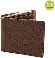 Vegan Leather Cork Wallets for Men with Coin Pocket and RFID Blocking also very Stylish