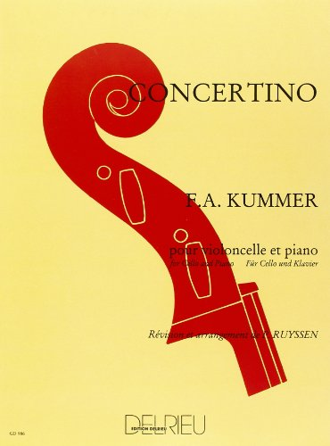 Concertino en do majeur pour violoncelle et piano