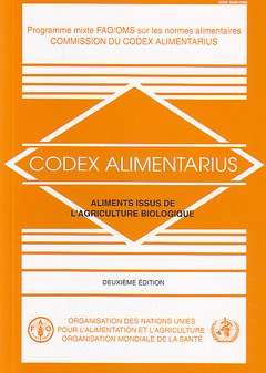 Aliments Issus De L'agriculture Biologique par Food and Agriculture Organization of the United Nations
