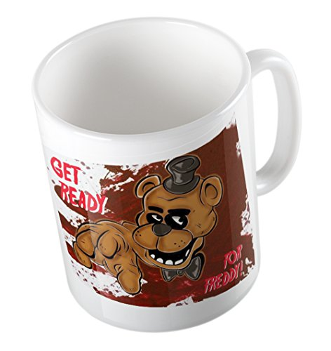 FIVE NIGHTS AT FREDDYS MUG (GET READY FOR FREDDY)