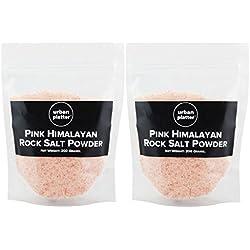 Urban Platter Pink Rock Salt Powder - 200 Grams (Pack Of 2)