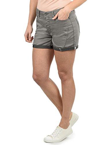 DESIRES Elja Damen Jeans Shorts Kurze Denim Hose Boyfriend-Shorts Aus Stretch-Material Loose Fit, Größe:40, Farbe:Mid Grey (2842) -