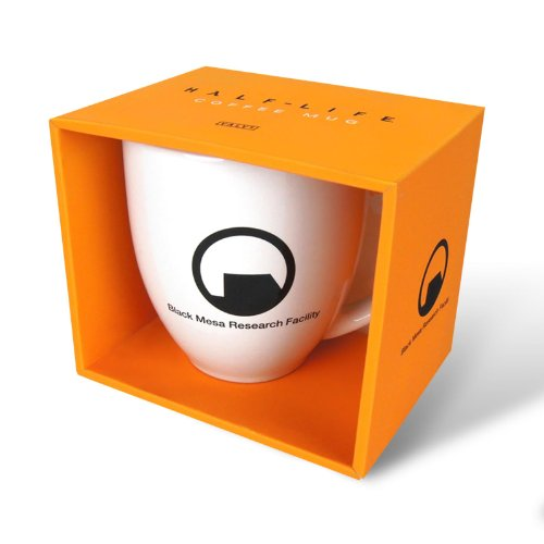 Half-Life 2 - Black Mesa Tasse Ego Shooter Game Fan Keramik Kaffeebecher Pott