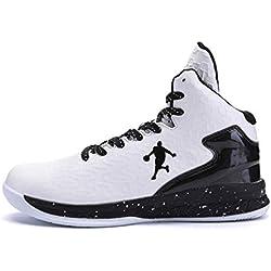 Los Hombres de Baloncesto Zapatos de Alta Tapa amortiguación de la luz Antideslizante Transpirable Deportes al Aire Libre Zapatos de Hombre Zapatillas