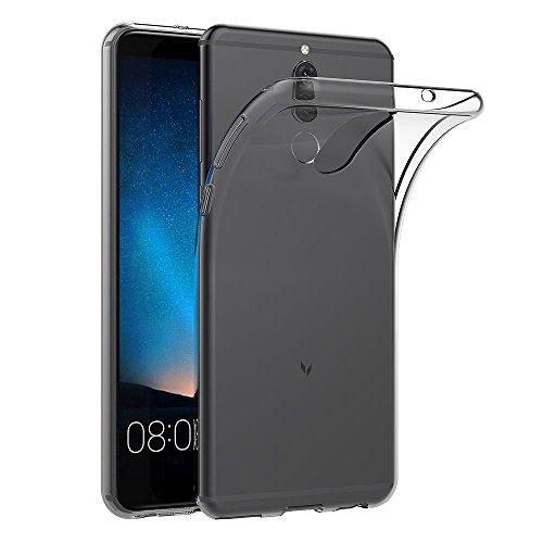 MaiJin Hülle für Huawei Mate 10 Lite/Honor 9i/Nova 2i (5.9 Zoll) Crystal Clear Durchsichtige Backcover Handyhülle TPU Case