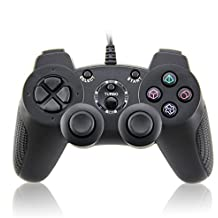 Wired Controller Doppelte Vibration Gamepad für Playstation 2 PS2 (Support Turbo)