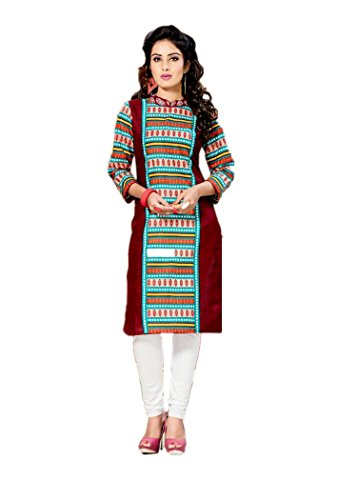 RK Fashion Women's Cotton Dress Material (RK1211_Free Size_Multi-Coloured)