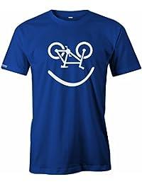 Bike Smiley - Fahrrad Hobby - HERREN T-SHIRT