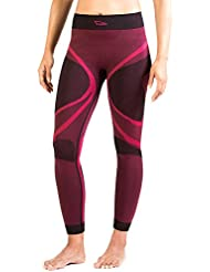 Xaed, Pantalone sportivo funzionale Donna, Intimo tecnico a compressione, Ideale per la corsa