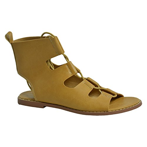 Cucu Fashion - Strap alla caviglia donna Marrone (Tenné)