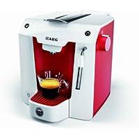 AEG A Modo Mio Favola Lavazza Espresso - Macchina per caffè, 0.9 Litri, 1300 Watt, rossso/bianco