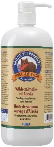 Grizzly L'Huilede Saumon Sauvage d'Alaska 1000 ml