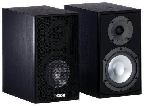 Canton GLE 420 Pair of Compact Speakers – Black