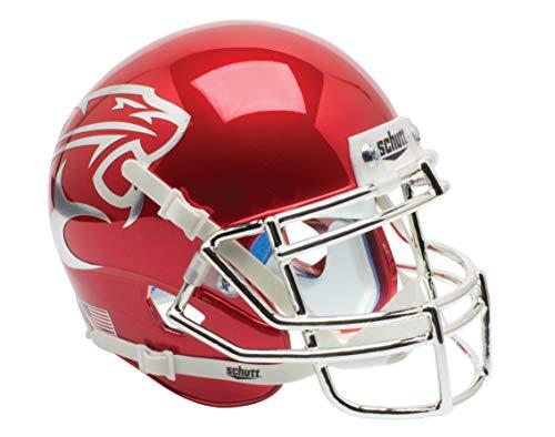 Schutt NCAA Houston Cougar rot Chrom Mini Helm, eine Größe, weiß