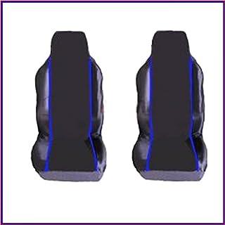 SEAT AROSA (1997-2004) PREMIUM FABRIC SEAT COVERS Blue PIPING 1+1