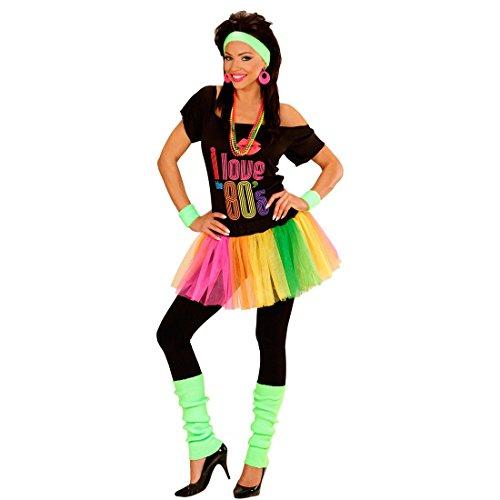 80er Jahre Neon Stulpen Beinwärmer grün Aerobic Stutzen Beinstulpen Strümpfe Legwarmer Stulpe Gamasche Damen Kostüm Accessoires