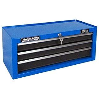 Sealey AP22309BBMB Mid-Box 3 Drawer with Ball Bearing Slides - Matte Blue