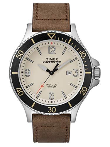 timex tw4b10600 - orologio da adulto, unisex, con movimento al quarzo analogico e cinturino in pelle