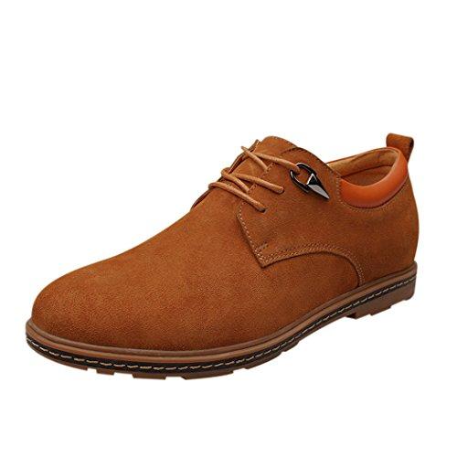 Spades & Clubs, Scarpe stringate uomo Marron Size: 40