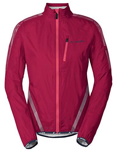 VAUDE Damen Luminum Performance Jacket Jacke, Crimson red, 38