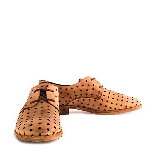 Felmini - Damen Schuhe - Verlieben Cuba 9650 - Schnürschuhe - Echte Leder - Mehrfarbig - 0 EU Size Mehrfarbig