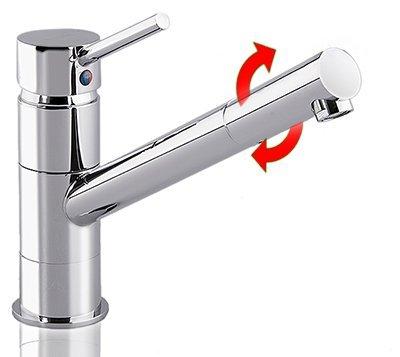 Küchenarmatur w107 Niederdruck Spültisch Armatur Küchen Wasserhahn Spüle - 2