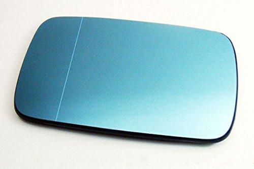 Vetro specchio retrovisore sinistro lato conducente riscaldato asferico blu